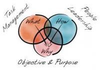 Venn diagram showing functional leadership