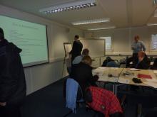 Management Team training exercise at client site