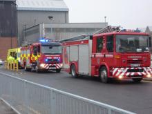 Emergency Services involved in Crisis Training at a customer site during a recent Born Leader exercise