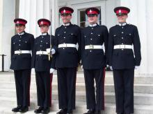 Successful Officer Cadets at Royal Military Academy, Sandhurst