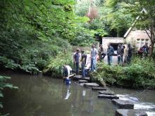 Offsite Leadership Training exercise - river crossing scenario